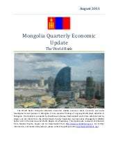 Mongolia Economic Quarterly Report-...