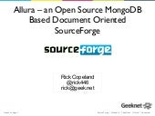 Allura - an Open Source MongoDB Bas...