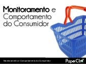 Monitoramento e Comportamento do Co...
