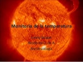 Monitoria De La Temperatura
