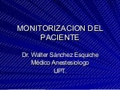 Monitorizacion Del Paciente