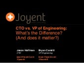 CTO vs. VP of Engineering
