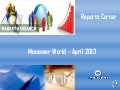 Monomer world   april 2013 - Reports Corner