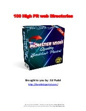 Monster list of 3,000 high quality ...