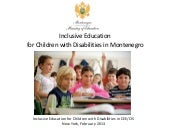 Inclusive education for children wi...