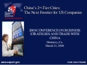 Department of Commerce 2nd Tiered C...