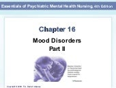 Mood Disorders Mental Health Nursin...