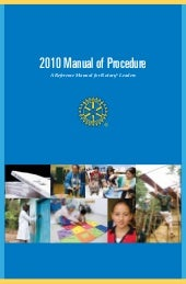 Rotary Manual of Procedures 2010-2013