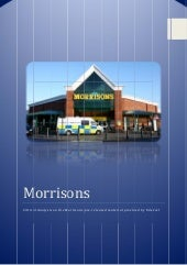 Critical Analysis on Morrisons Pre-...