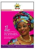 1st Year Memorial Service of Mrs Funmilayo Adunni OLAYINKA