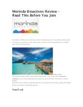 Morinda bioactives review – read th...