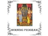Vaisnava Morning Program