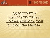 Morocco film-production.com is a le...