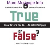 Mortgage you don't know