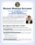 Missouri Mortgage Settlement