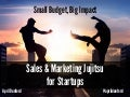 Sales and Marketing Jujitsu for Startups