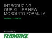 Our Killer New Mosquito Formula | Mosquito Control from Terminix