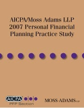 Moss Adams 2007 Personal Financial ...