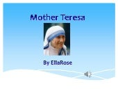 Mother teresa by ella rose