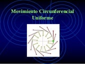 Movimiento circunferencial uniforme...