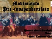 Movimiento preindependentista