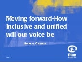 Moving forward: how inclusive and u...