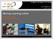Moving learning online part - why?