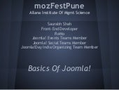 Basics of Joomla!