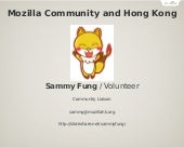 Mozilla Community and Hong Kong
