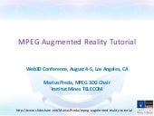 MPEG Augmented Reality Tutorial