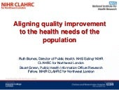 Introduction to Aligning Quality Im...