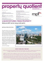 MPI Market Report – April 2011