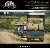 Mpongo Private Game Reserve conference package.