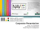 Corporate Presentation of MindQuad ...