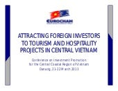 ATTRACTING FOREIGN INVESTORS TO TOU...