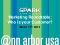 Marketing Roundtable - March 12th, 2013