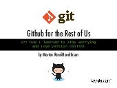 GitHub for the Rest of Us