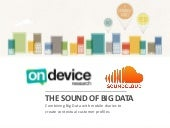 The Sound of Big Data - SoundCloud case study