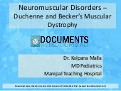 Muscular Dystrophy : Duchenne and B...