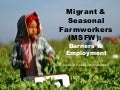 Migrant and Seasonal Farmworkers