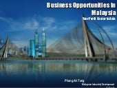 Malaysia As A Smart Business Partne...