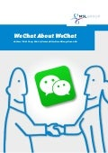 We Chat about WeChat by @msl_group