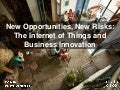 New Opportunities, New Risks: The Internet of Things and Business Innovation