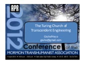 The Turing Church of Transcendent E...