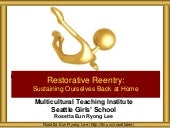 MTI 2015 Restorative Reentry