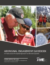 Aboriginal engagement-guidebook- AME- B.C 2015 - A practical approach for mining explorers