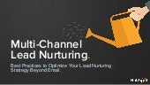 How to Leverage Multichannel Lead Nurturing