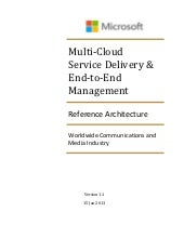 Multi-Cloud Service Delivery and En...