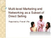 Multi level marketing and networking (1)