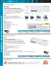 Multi link product line card 2013